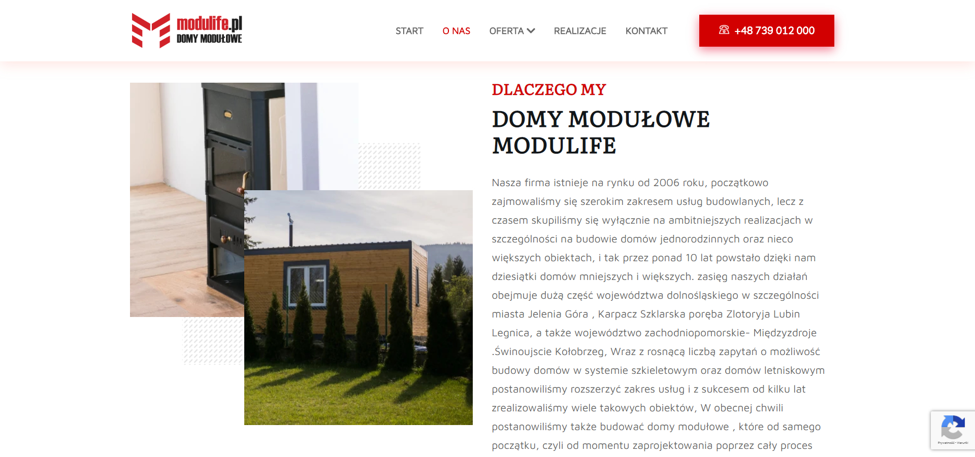 Tworzenie stron internetowych - modulife.pl